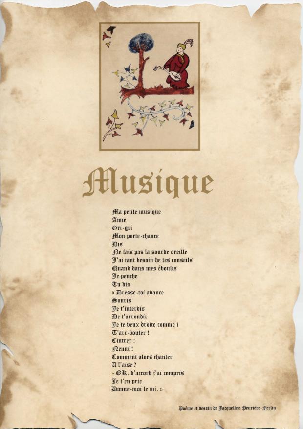 Modèles De Poèmes Sous Forme Denluminures Poésie Passion